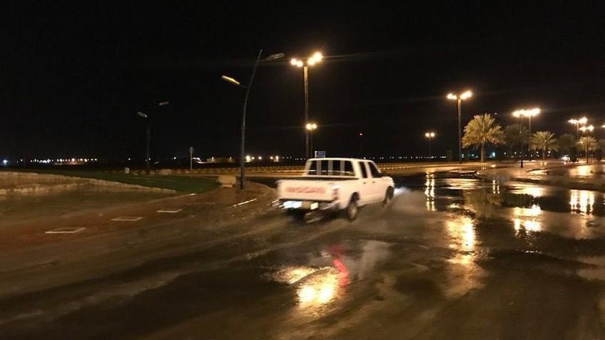 شاهد بالفيديوهات و الصور | توثيق اليوم الثاني للحالة الماطرة (سُقيا) على السعودية 27/11/2020