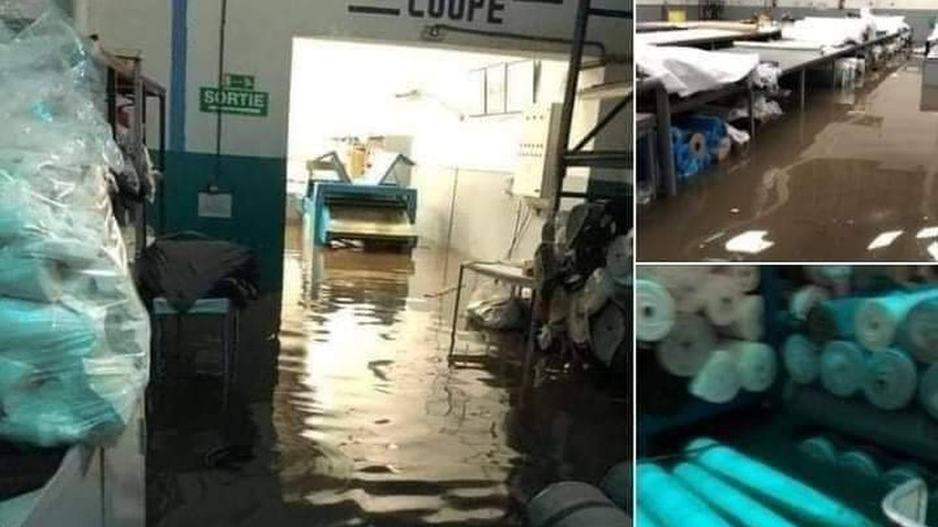 المغرب | في فاجعة جديدة .. السيول تداهم مصنع للنسيج وتسجيل 24 وفاة داخله حتى اللحظة - شاهد الفيديو