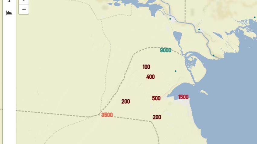 الكويت - 11:10 صباحاً | يوم عاصف والرؤية دون الـ 500 وتوقعات بغبار أكثر كثافة الساعات القادمة