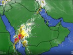 Update - Saudi Arabia | Strong thunderstorms affecting the south of the country