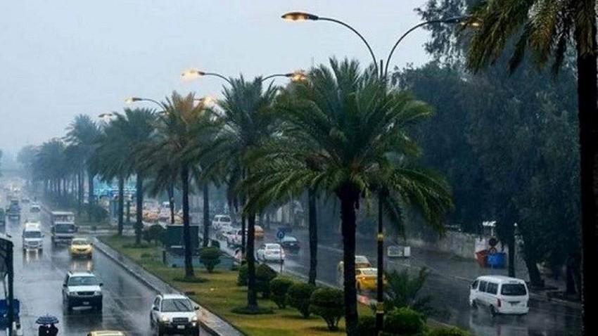 العراق | الكتلة الأبرد منذ بداية الموسم تجلب معها الانخفاض الحراري الحاد والامطار والثلوج للمرتفعات الشمالية إعتبارًا من الأربعاء