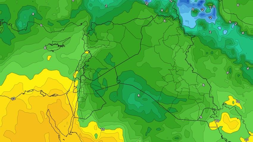 النشرة الأسبوعية للأردن   طقس بارد مع هبوب الرياح الشرقية وفرصة لزخات أمطار في بعض الأيام
