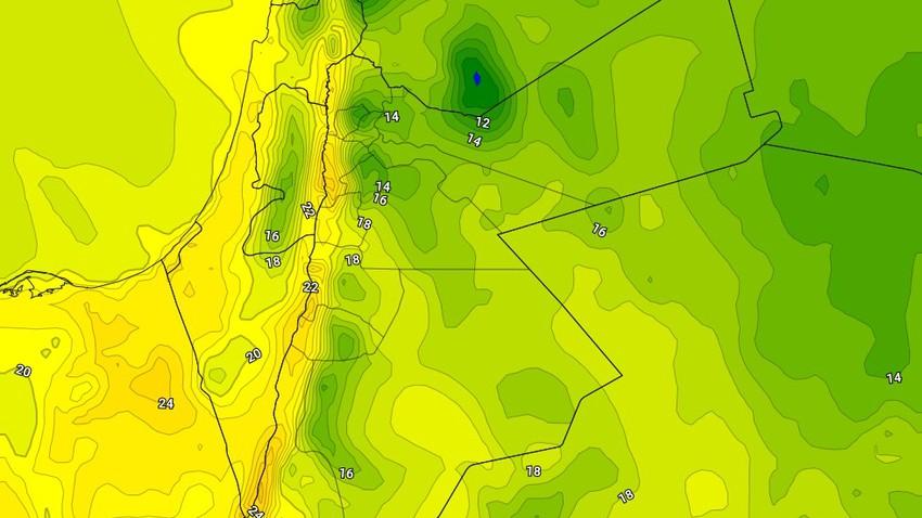 الإثنين | طقس بارد مع استمرار نشاط الرياح الشرقية