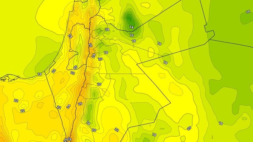 الأربعاء | ارتفاع على درجات الحرارة وأجواء باردة نسبيًا تميل للدفء فوق أغلب المناطق