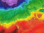 مصر وبلاد الشام | مُنخفض جوي يجلب الانخفاض على الحرارة وهطول الأمطار والثلوج للجبال العالية في لبنان