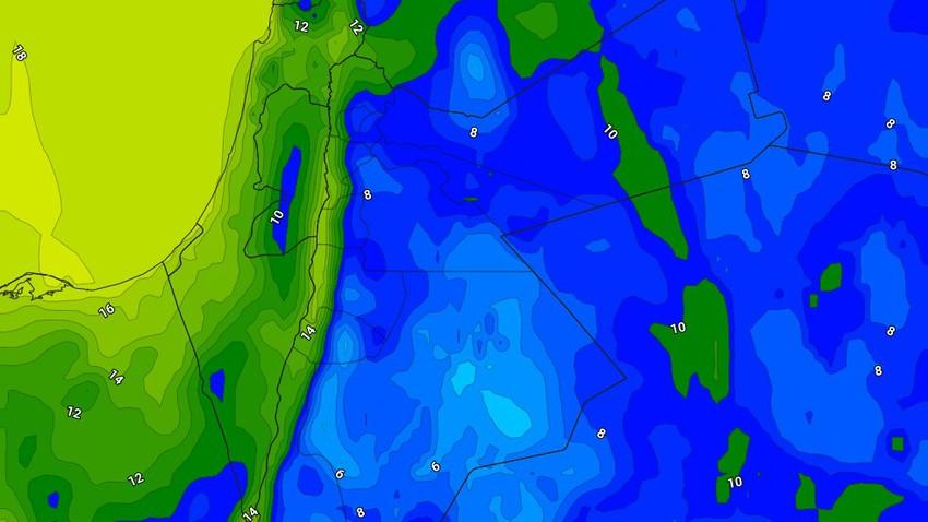 الليلة   تجدد حالة عدم الاستقرار وأمطار رعدية تطال المناطق الجنوبية فجراً