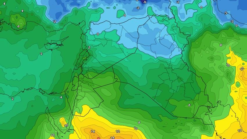 الإثنين | ارتفاع على درجات الحرارة مع ظهور السُحب المتوسطة وهبوب الرياح الشرقية