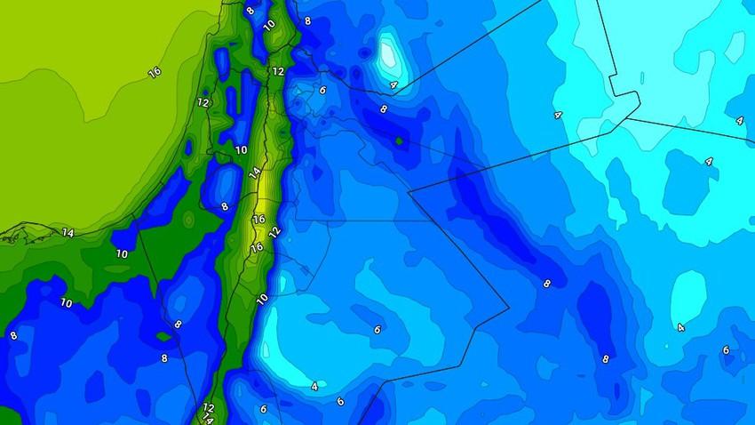 الليلة | طقس بارد ورطب في عموم مناطق المملكة