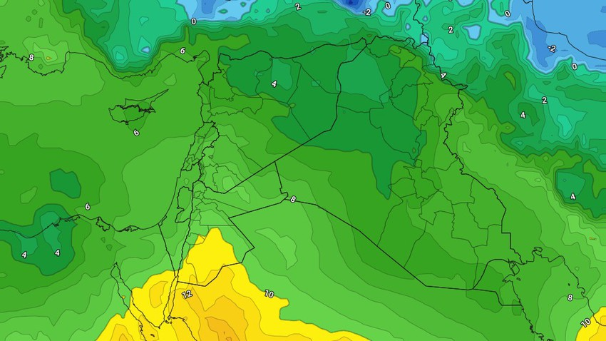 Friday | Stable weather with high temperatures