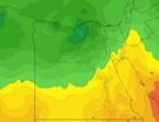 مصر - نهاية الأسبوع | طقس دافئ نهاراً وبارد رطب ليلاً مع فرصة لزخات من الأمطار في بعض الأجزاء
