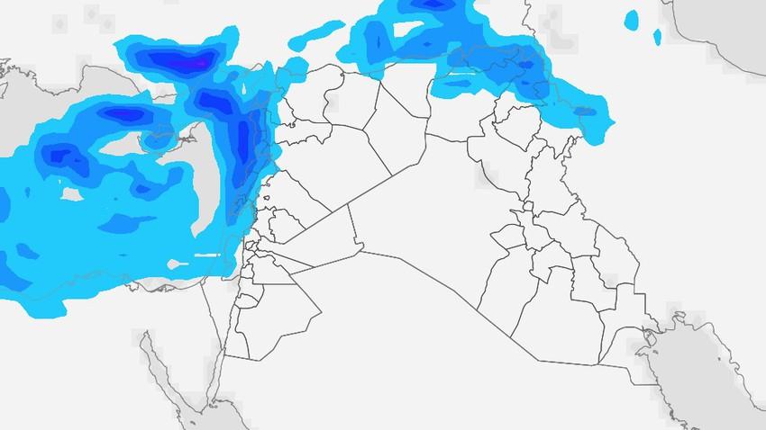 العراق   أجواء مُستقرة ودافئة في اغلب المناطق بإستثناء الشمالية منها