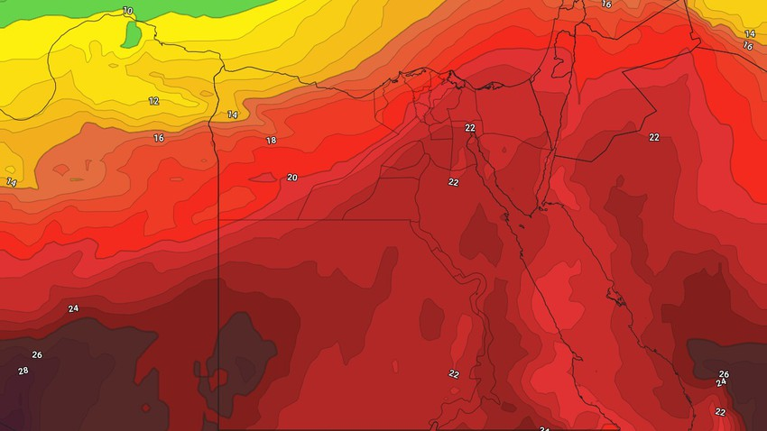 Egypt - Weekly Newsletter A mid-week low air depression. the details