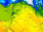 Iraq | Warm weather Sunday with the emergence of clouds at different altitudes