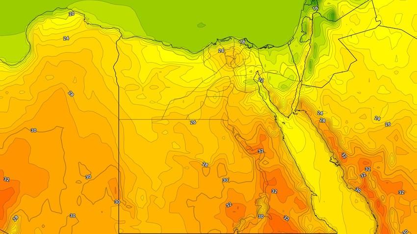 مصر | طقس ربيعي دافئ ومشمس الأحد