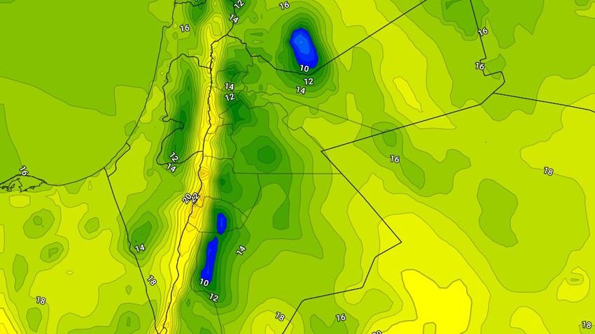 الجمعة | طقس عاصف مع انخفاض كبير على درجات الحرارة