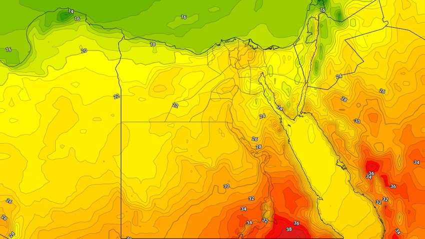 Egypt | Activity on the speed of the dusty winds, including the capital, Cairo, on Wednesday