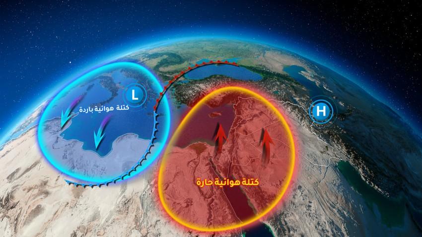 الأردن | موجة من الدفء تؤثر على المملكة إعتباراً من الإثنين وذروتها الثلاثاء