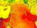 Iraq | Hot to very hot Sunday with winds blowing from the northwest