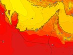 Emirates | Temperatures return to high on Sunday, with the emergence of high clouds