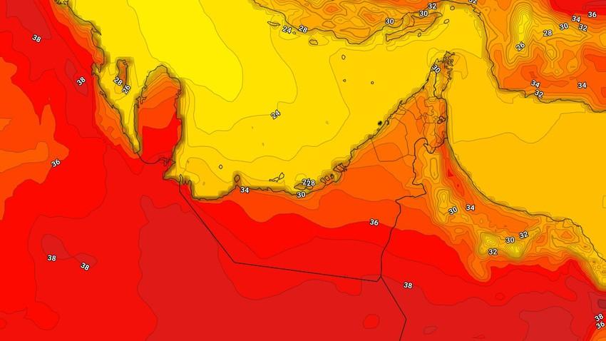 الإمارات | عودة درجات الحرارة للارتفاع الاحد مع ظهور السُحب العالية