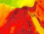 مصر | اشتداد تاثير الموجة الحارة على العاصمة القاهرة يوم الإثنين