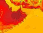 عُمان | طقس حار إلى شديد الحرارة ببعض المناطق وفرصة ضعيفة لزخات من الامطار في اجزاء محدودة من المناطق الجنوبية