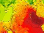 العراق | درجات حرارة لاهبة في بغداد الأربعاء وفرصة لزخات رعدية من الأمطار في نطاقات جغرافية ضيقة وعشوائية