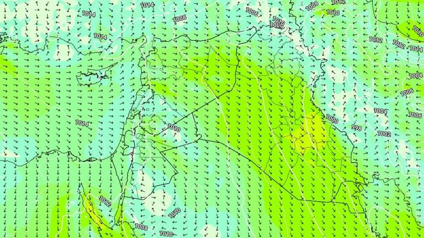 Kuwait | A slight rise in temperatures with the activity of northwesterly winds