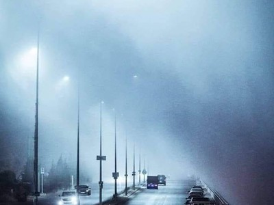 Jordan | Foggy nights and strikingly cold during the remainder of the week