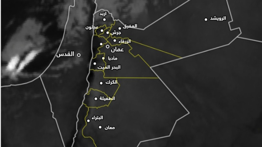 Update at 01.50 am   Warning of floods forming due to heavy rains in Irbid Governorate