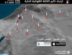 الأردن | ازدياد تأثير الكتلة الهوائية الحارة وبلوغ ذروتها الجمعة