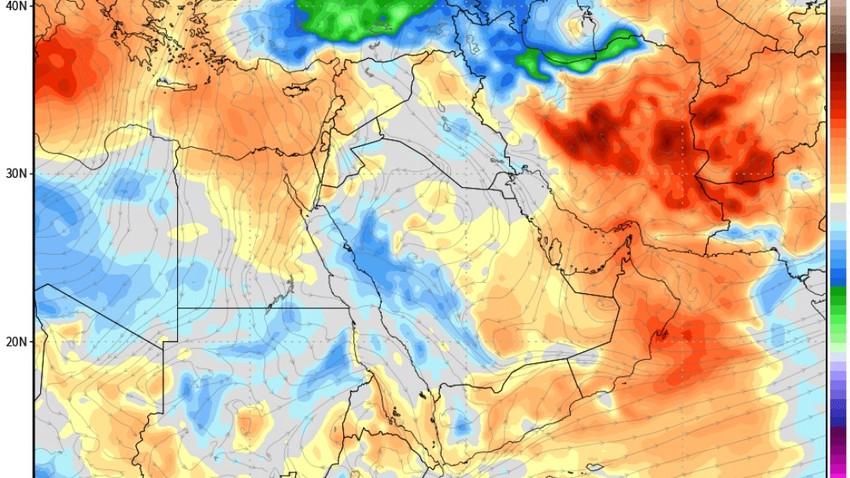 أجواء معتدلة إلى حارة نسبياً في الأيام القادمة .