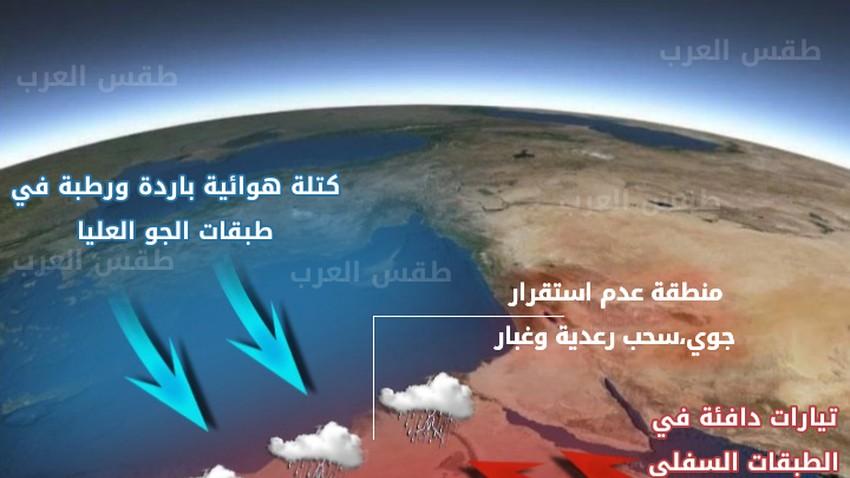 مصر | عدم استقرار جوي لعدة أيام وتنبيه من السيول ببعض المناطق