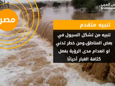 Egypt | Serious alerts during expected weather conditions