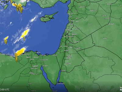 Egypt | A strong thunderstorm cloud affecting the far northwest of the country