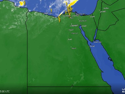 Strong thunderstorms affect northwest Egypt