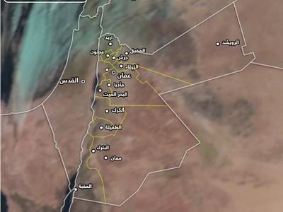 تنبيه | اشتداد الرياح الشرقية وتنبيه من كثافة الغبار في بعض المناطق
