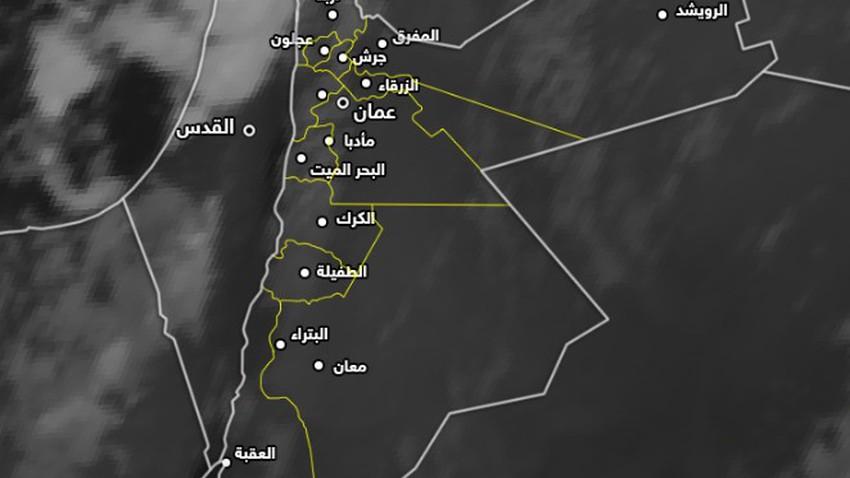 تحديث-فلسطين | سُحب قوية محملة بكميات كبيرة من الأمطار في شمال البلاد،توصيات هامة