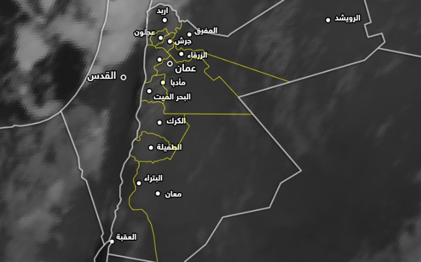 تحديث-فلسطين   سُحب قوية محملة بكميات كبيرة من الأمطار في شمال البلاد،توصيات هامة