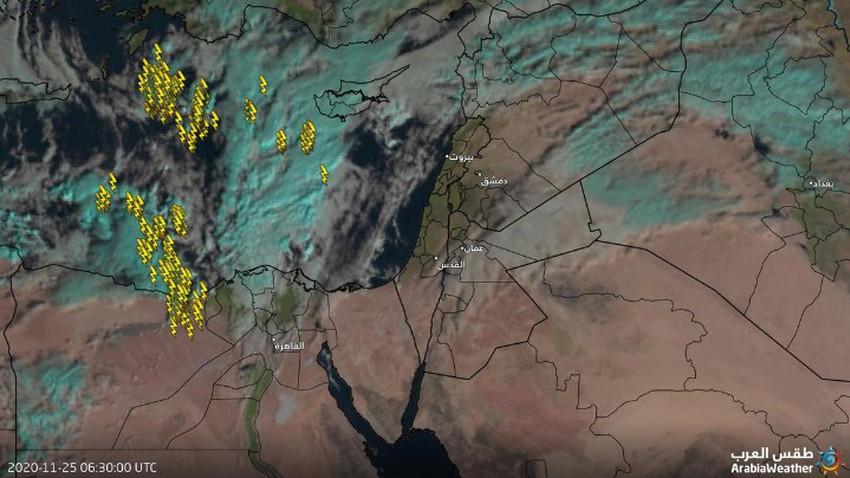 تحديث الساعة 9.00 صباحًا | أجواء مُستقرة تشهدها المملكة الآن وتقلبات جوية خلال ساعات مابعد العصر