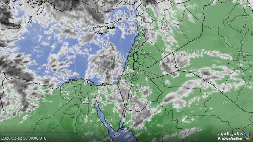 تحديث | كميات كبيرة من السُحب المتوسطة والعالية تندفع نحو المملكة خلال الساعات القادمة