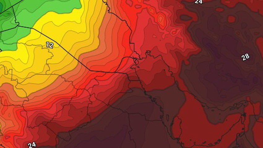 Kuwait | More temperature rise on Friday