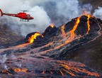Video | A drone captures a majestic close-up scene of the Icelandic volcano eruption