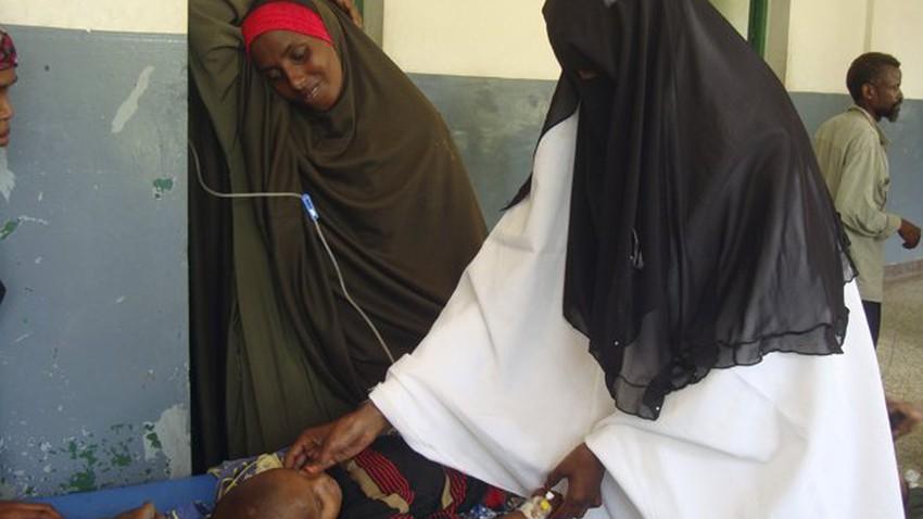 ارتفاع نسبة سوء التغذية الحاد وسط أطفال الصومال بسبب الجفاف