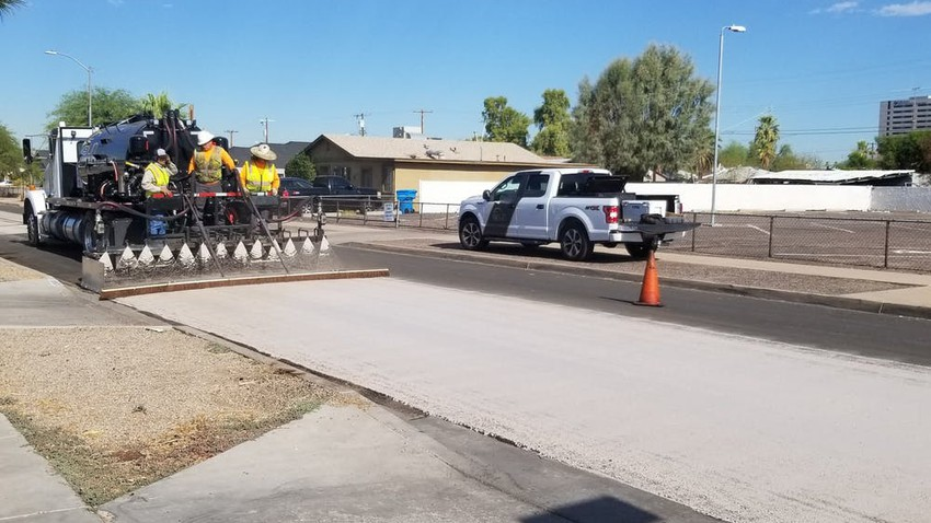 Watch what the American city of Phoenix did in its streets to beat the high heat
