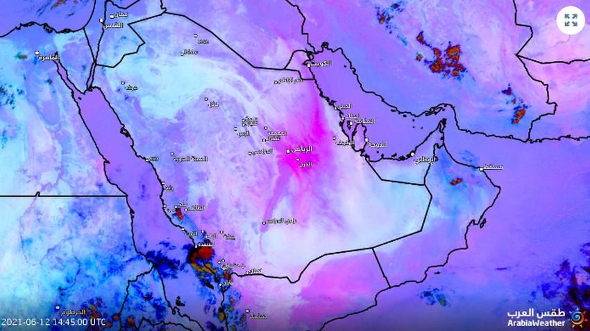 12 heures accélérées en 6 secondes: vidéo satellite des vagues de poussière de l'Arabie saoudite
