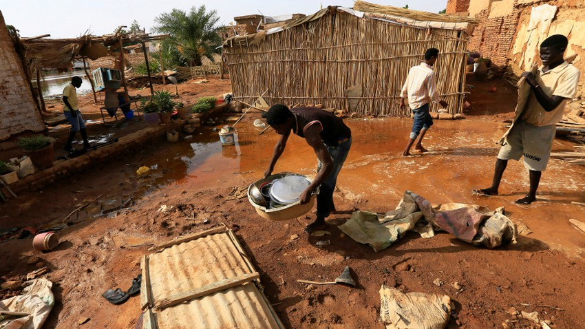 Sudan | The `Nile` is the highest level in a century, and unprecedented floods displace thousands of people and 88 deaths