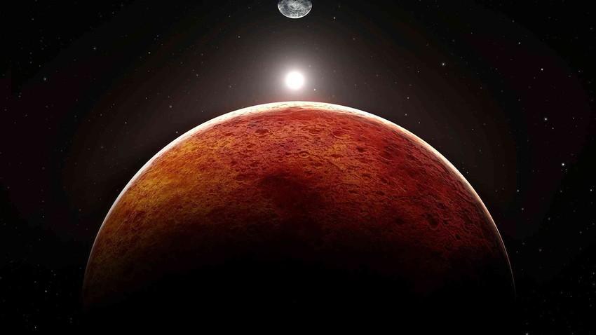 المريخ يصل أقرب نقطة له من الأرض ليلة الثلاثاء/الأربعاء