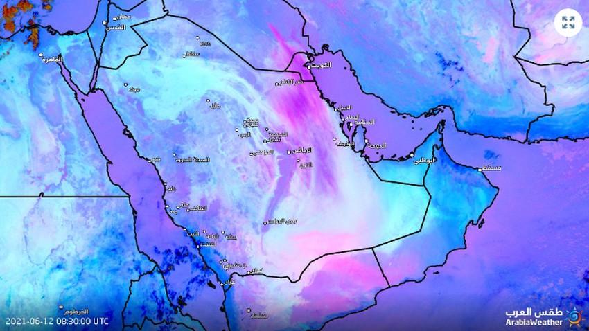 عاجل - الرياض | موجة الغبار تصل العاصمة وتنبيهات جدية من تزايد كثافتها الساعات القادمة