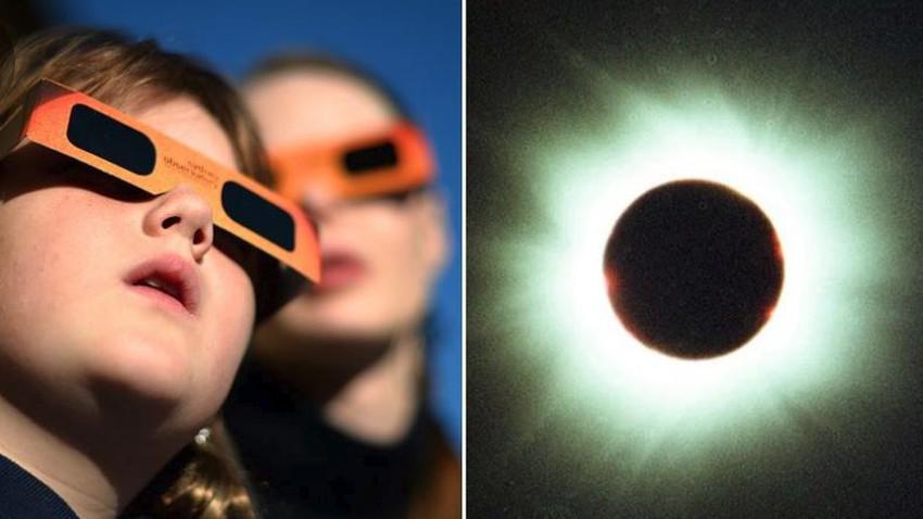 هل النظر إلى كسوف الشمس 21 يونيو/ حزيران 2020 يؤذي العينين؟